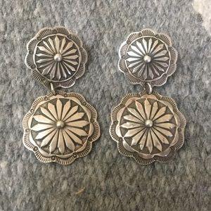Jewelry - Wonderful small concho style earrings.